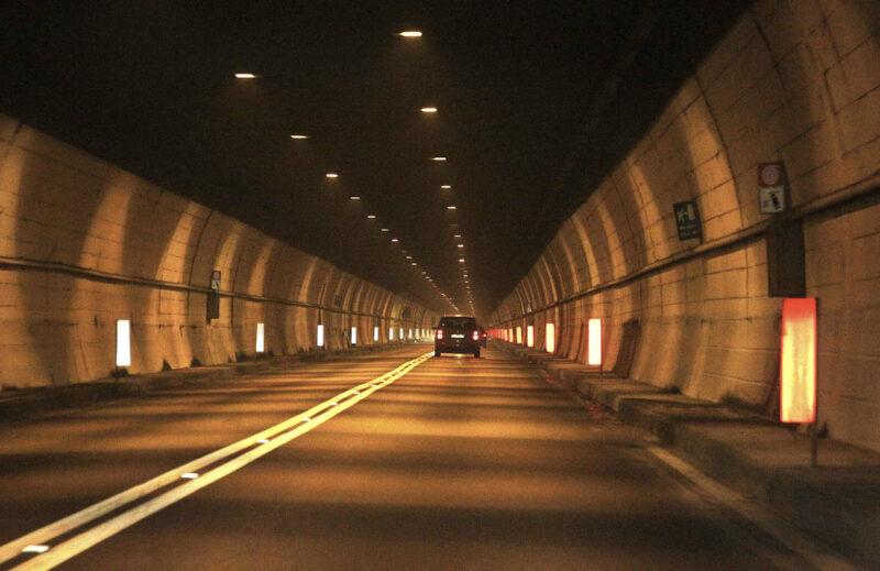 Tunnel zwischen Riva del Garda und Limone